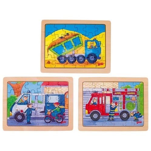 24 Piece puzzles - Vehicles