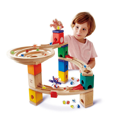 Race to the Finish Marble Run