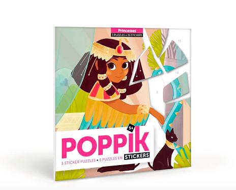 Princesses Sticker Puzzle Set for 5-8yrs