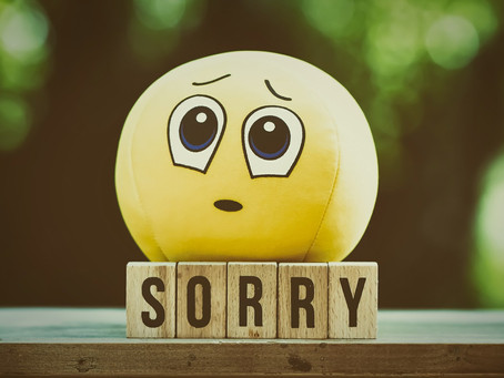 """Why saying """"I'm Sorry"""" is an essential parenting tool"""