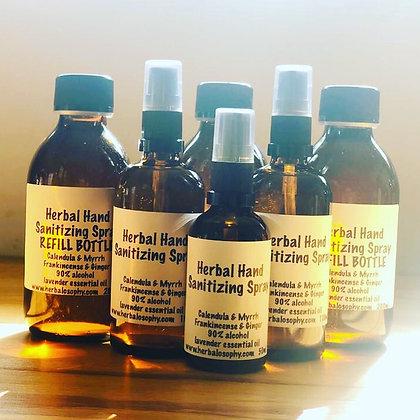 Herbal hand sanitising refill 200ml