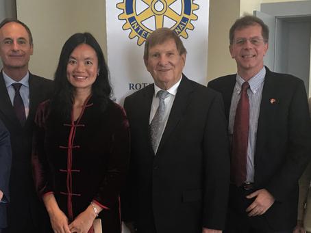 China Talk, Rotary Club Lausanne