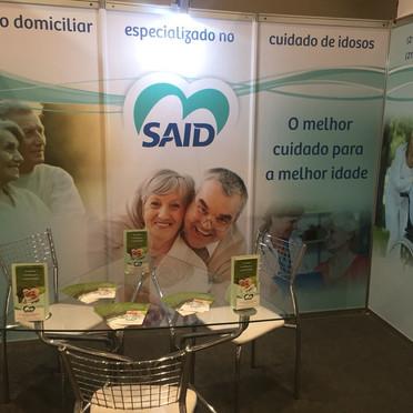 Projeto de stand para evento SAID RIO