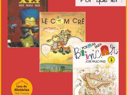 José Paulo Paes e seus poemas para brincar!