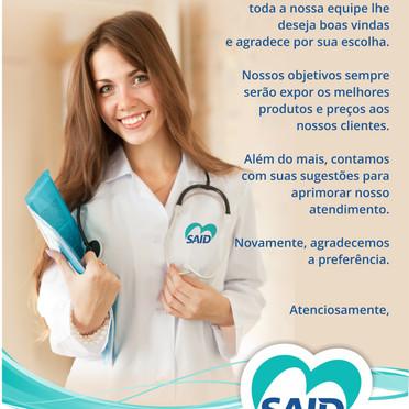 Carta para clientes SAID RIO