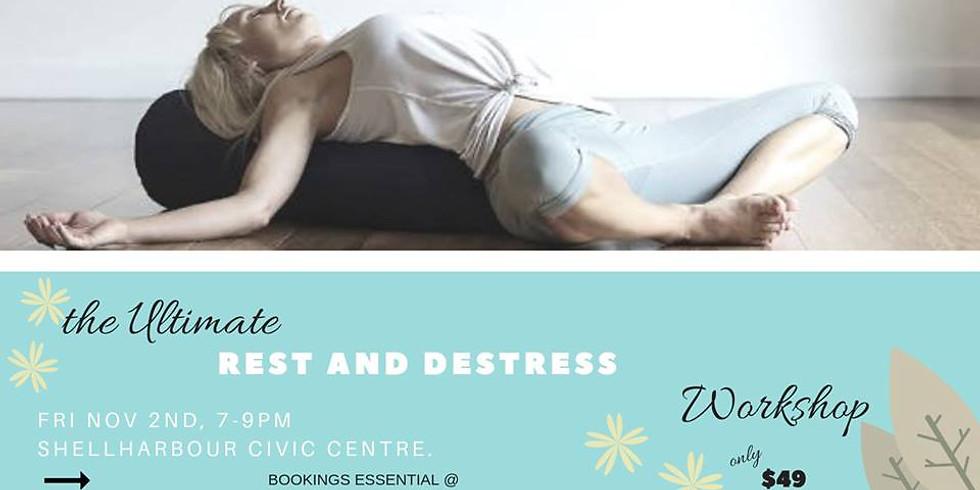 the ULTIMATE Rest & De-stress Workshop
