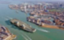 Southampton RIB Charter - HMS Queen Elizabeth