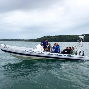 """Portsmouth RIB Charter's RIB """"Aquadiction"""""""