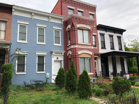 Row house bid and bought on in a week