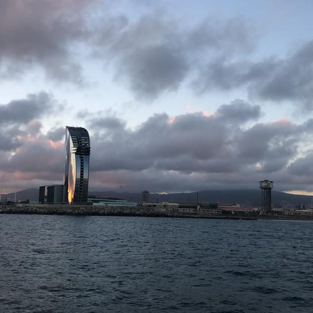 Timelapse in Barcelona