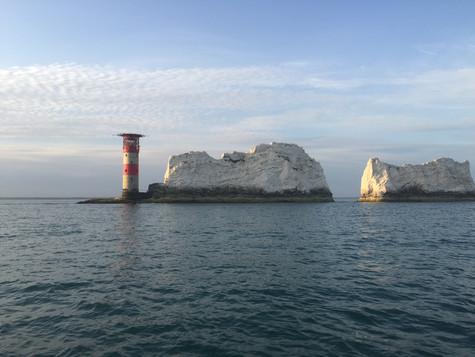 The Needles and Alum Bay