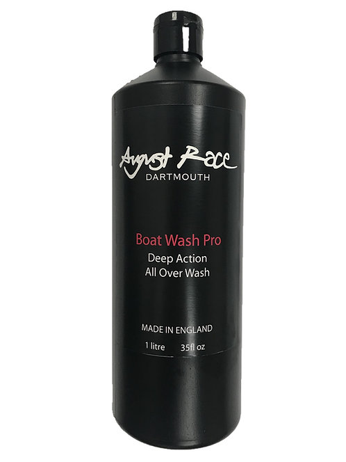 AUGUST RACE BOAT WASH PRO - COMPLETE WASH & WAX