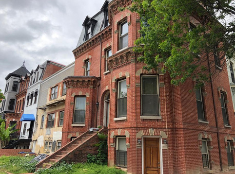 Building bought for cash in DC