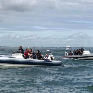 """Southamoton RIB Charter's RIB """"Aquaholic"""""""