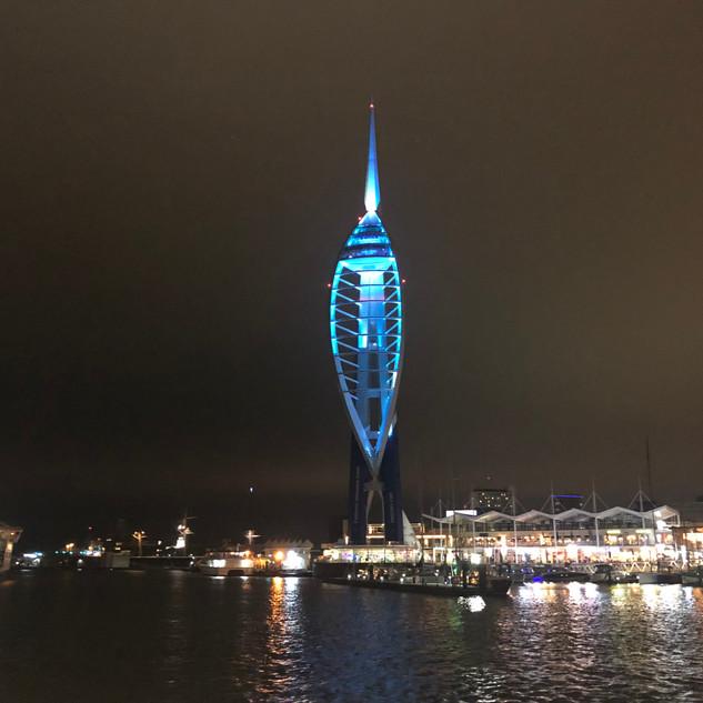 Spinnaker Tower at Gunwharf Quays