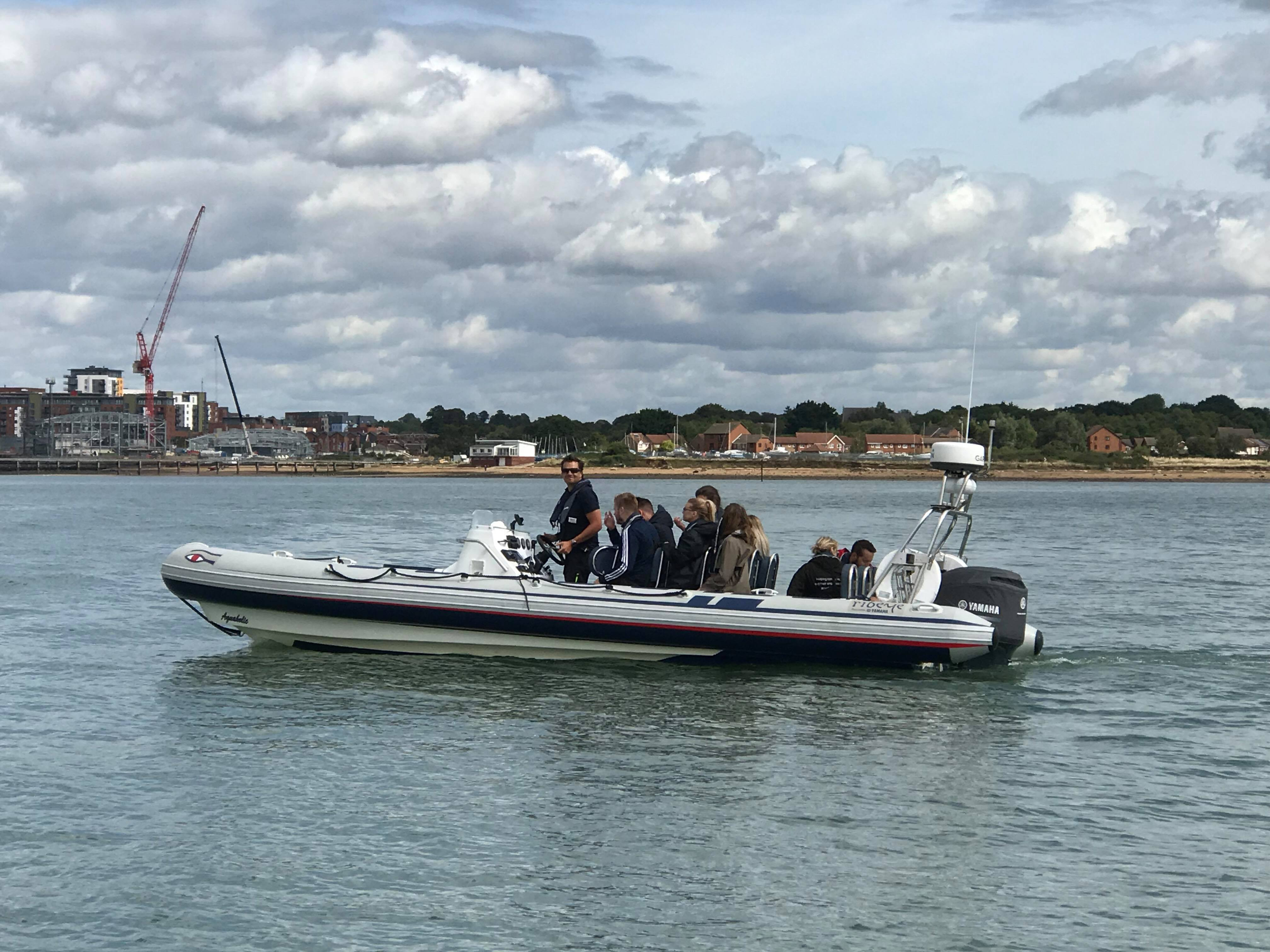 Portsmouth RIB Charter and Hire