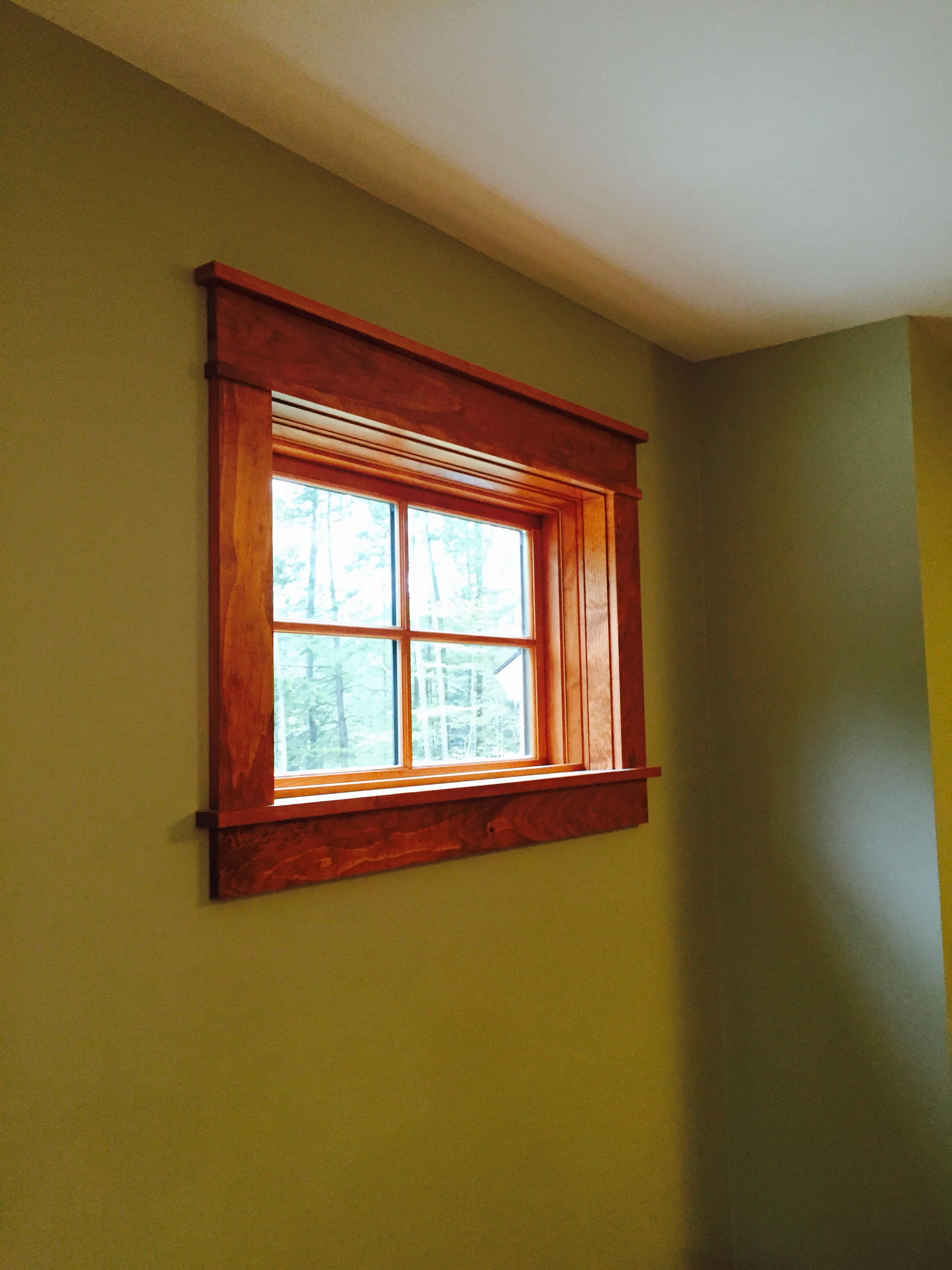Marvin window and custom trim