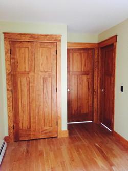 Craftsman pine doors