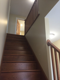Cherry staircase