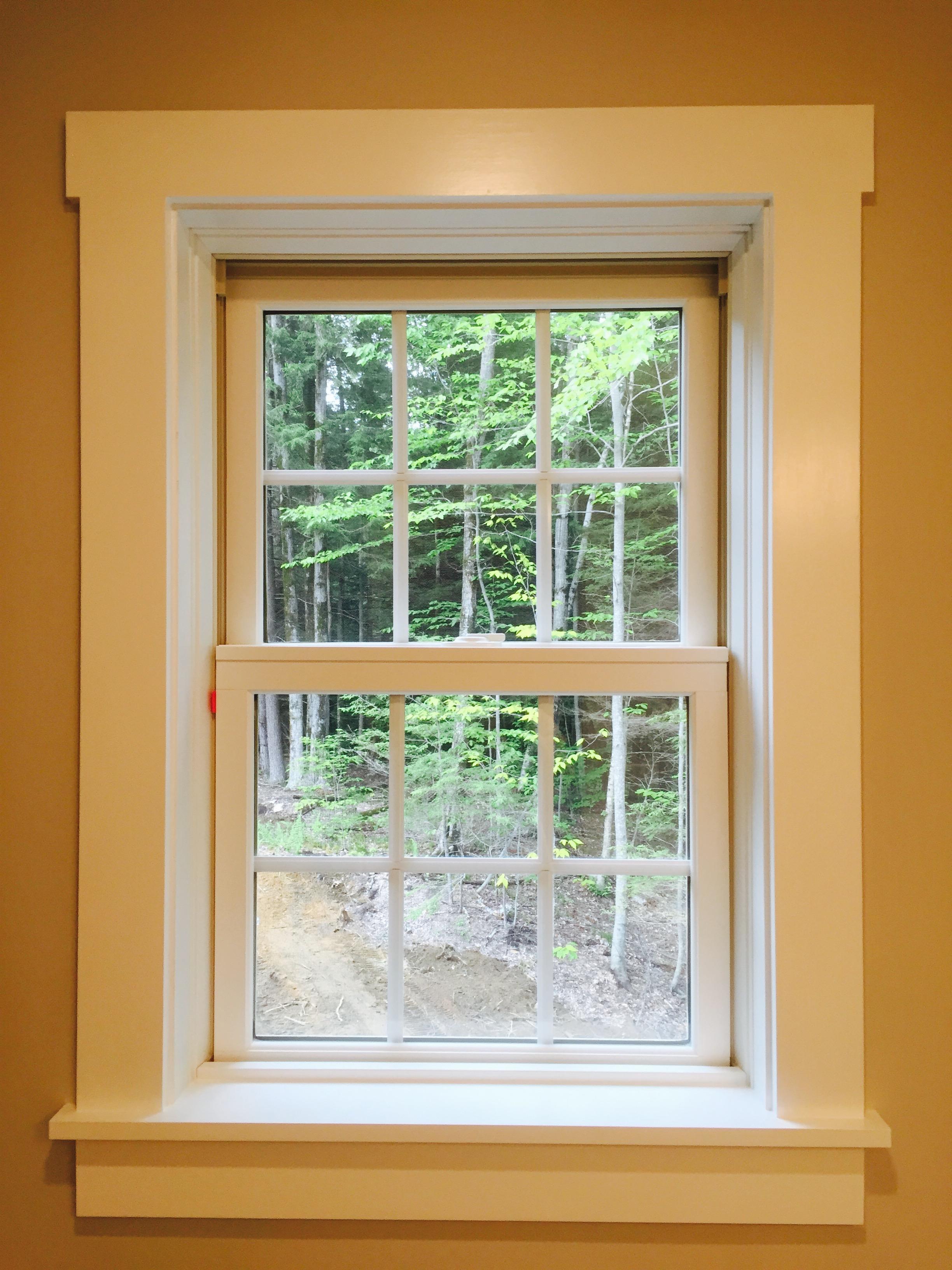 Simonton window and farmhouse trim