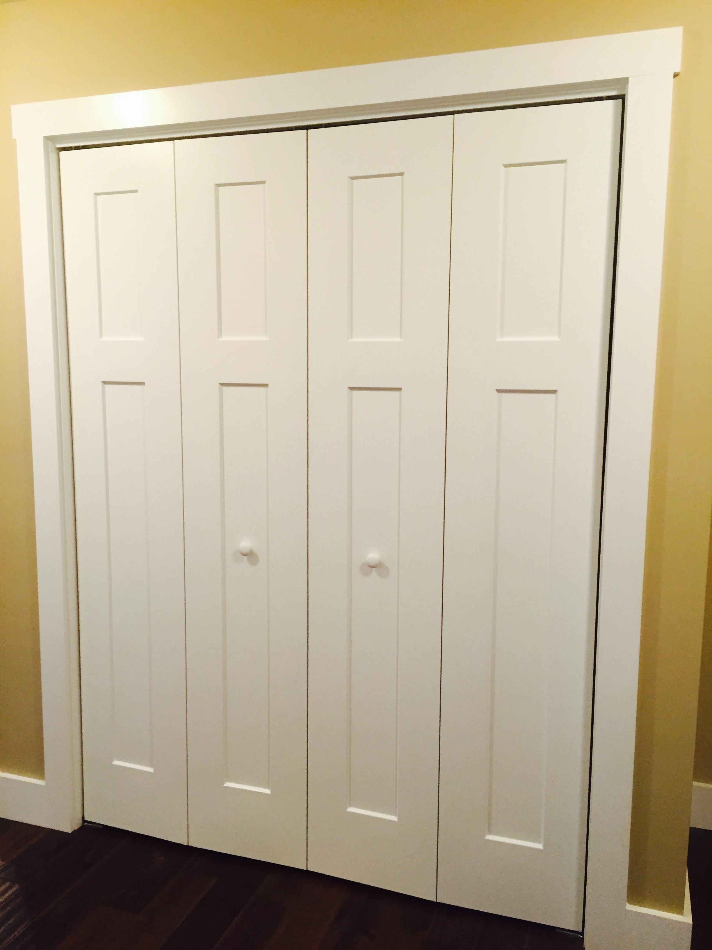 Craftsman closet doors