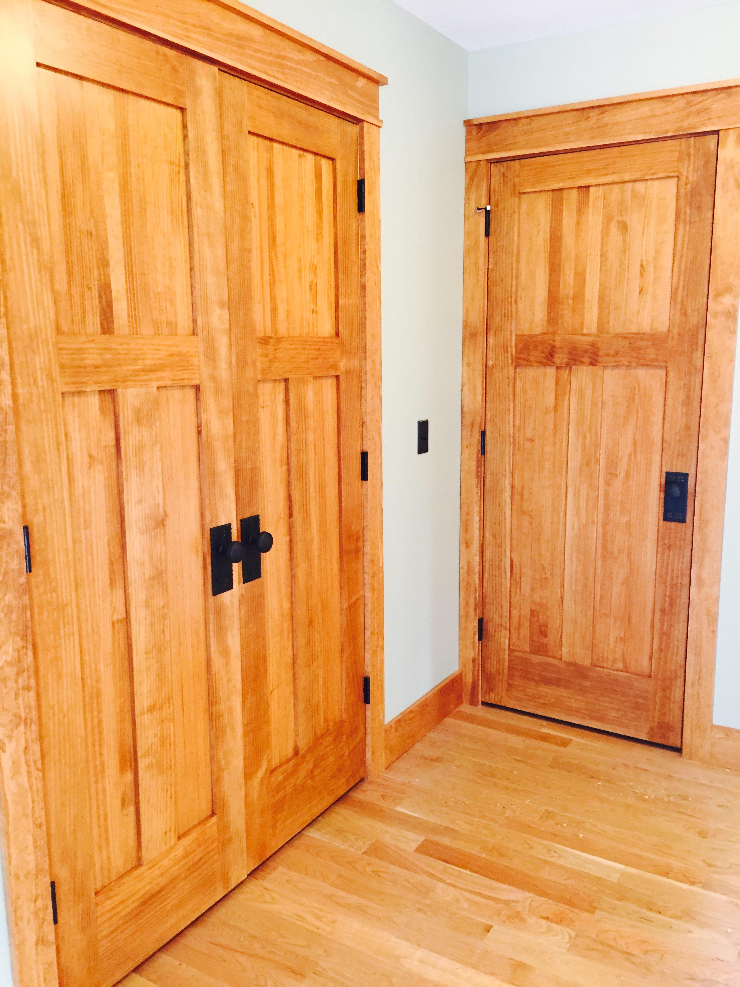 Craftman pine doors