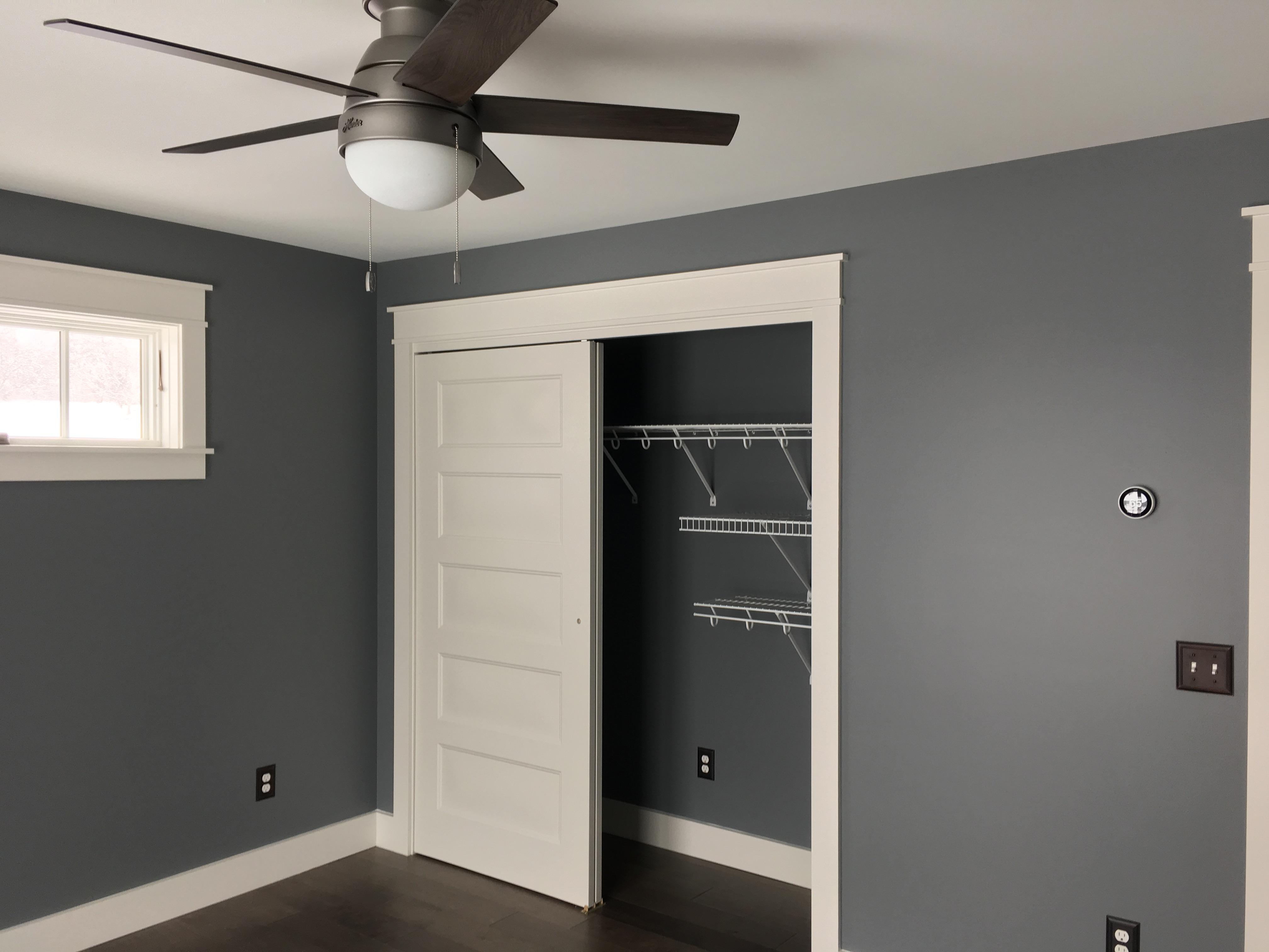 Pass by interior closet doors