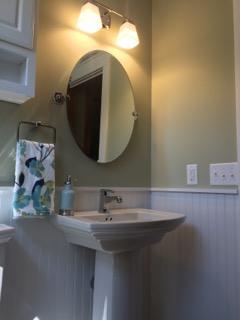 Common bathroom finishes
