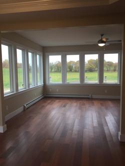 Marvin windows and cherry floors