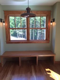 Window seat and custom bench