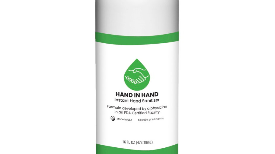 16 oz. Hand Sanitizer