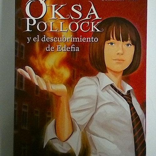 Oksa Pollock y el descubrimiento de edefia  (Anne Plichota)