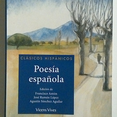 Poesía Española (Vicens Vives)