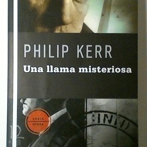 Una llama misteriosa (Philip Kerr)