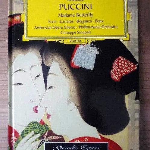 Giacomo Puccini: Grandes óperas, libro cd de Deustsche Grammophon 3 CD + libro