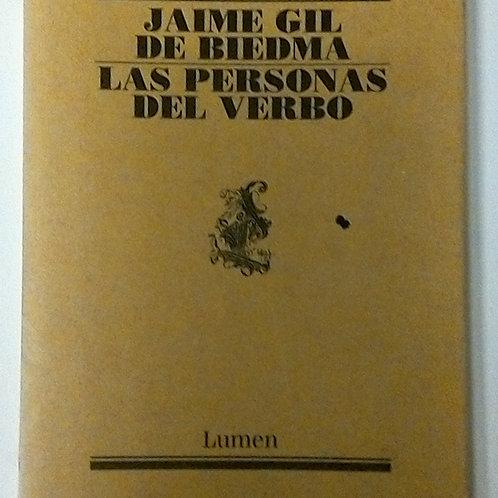 Las personas del verbo (Jaime Gil de Biedma)