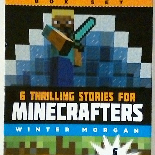 Minecrafters 6 thrilling books (Winter Morgan)