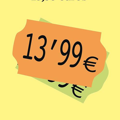13.99 euros (Frédéric Beigbeder