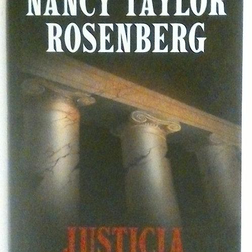 Justicia Corrupta (Nancy Taylor Rosenberrg)