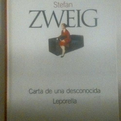 Carta de una desconocida Leporella (Stefan Zweig)