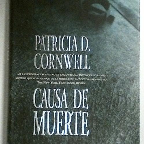 Causa de muerte (Patricia D.Cornwell)
