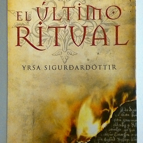 El último ritual (Yrsa Sigurdardóttir)