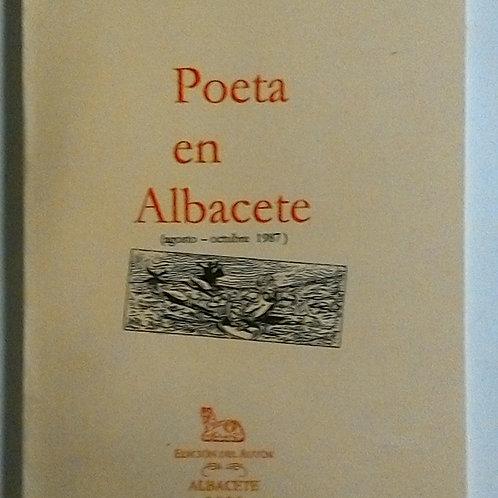 Poeta en Albacete (Antonio Matea Calderón)