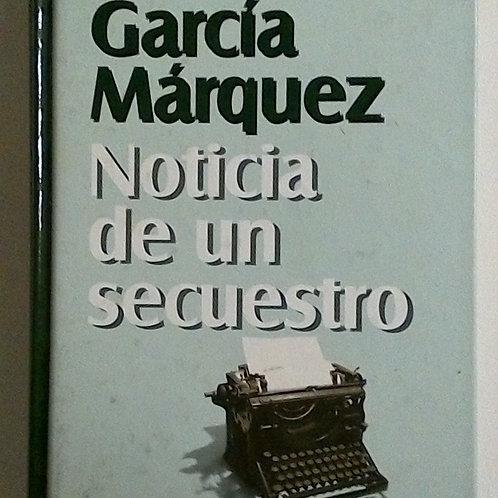 Noticia de un secuestro (Gabriel García Márquez)