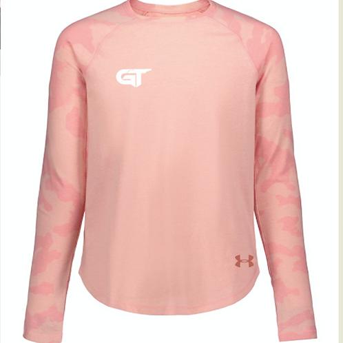 GIRLS Pink Camo Long Sleeve