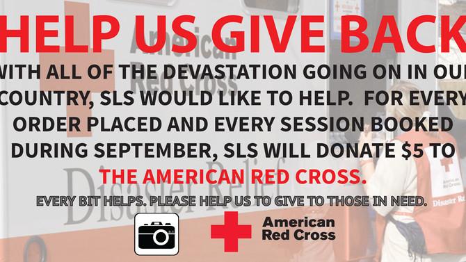 HELP US GIVE BACK