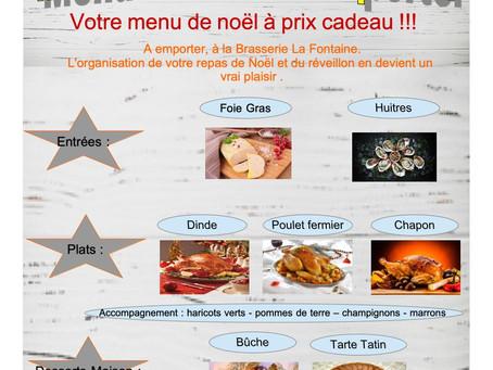 Repas spécial de NOEL !!!