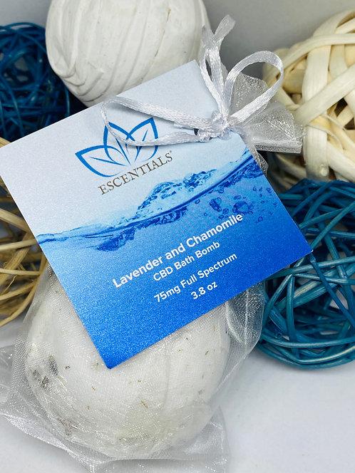 Escentials® - Lavender and Chamomile Bath Bomb