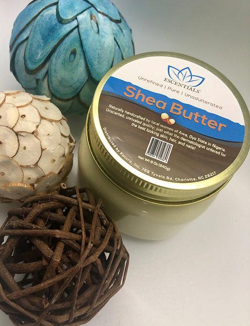 Escentials® Unscented Shea Butter 8oz