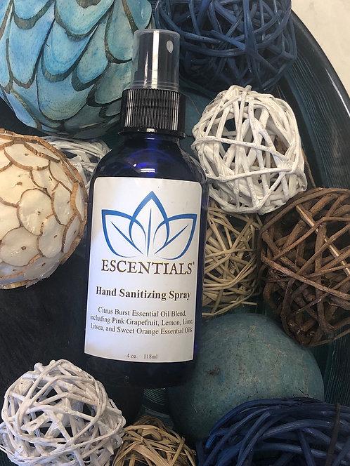 Escentials® Hand Cleansing Spray 4oz